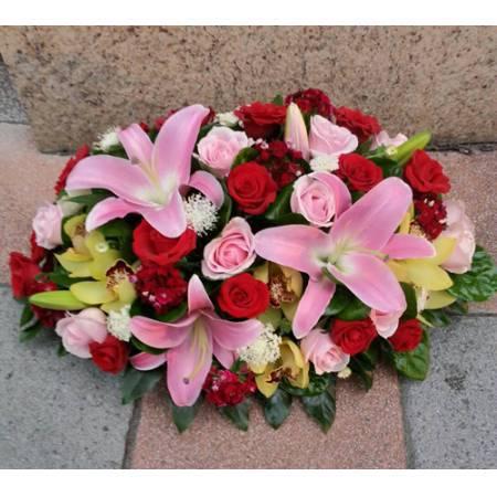 C028精緻盆花喜慶會場佈置盆花