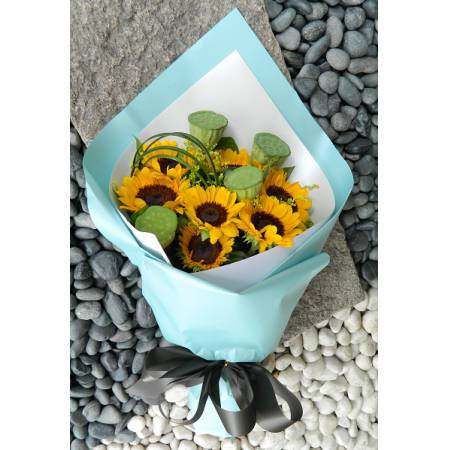 AC002畢業花束向日葵花束