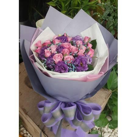A015玫瑰花束情人節花束生日浪漫花束