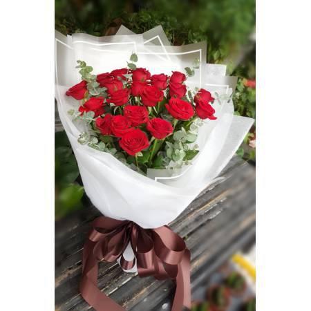 A017玫瑰花束情人節花束生日浪漫花束