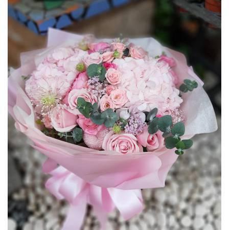 A018玫瑰花束情人節花束生日浪漫花束