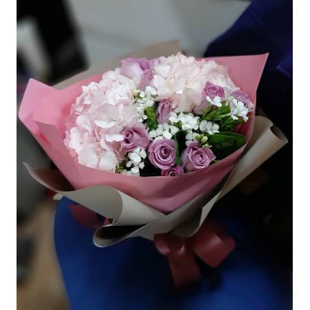 A019玫瑰花束情人節花束生日浪漫花束