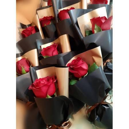 A021單朵玫瑰花包裝