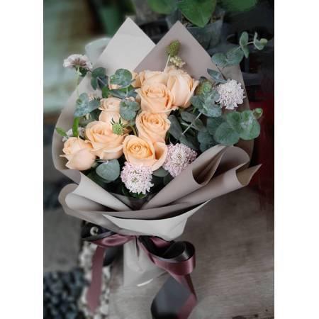 A022玫瑰花束情人節花束生日浪漫花束