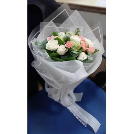 A023玫瑰花束情人節花束生日浪漫花束