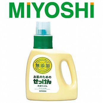 Z006日本MIYOSHI無添加洗衣精1200ml