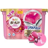 Z036(新包裝)日本P&G花香洗衣膠球-典雅牡丹(粉紅色)