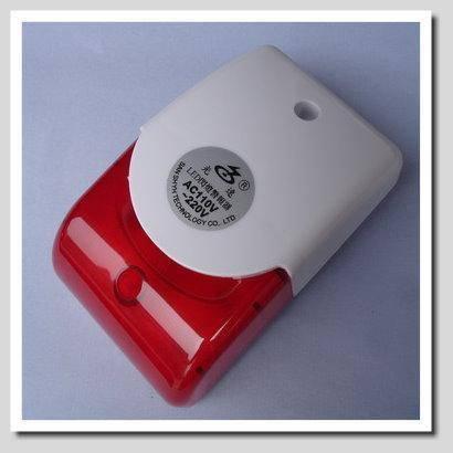 紅白閃燈警報器