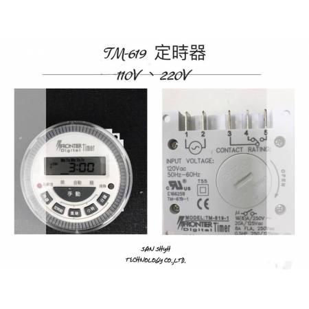 露出型全功能數位定時器