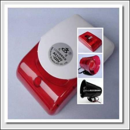3S-995紅色高音貝閃燈警報器