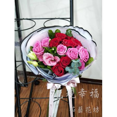 SU003[幸福]玫瑰花束