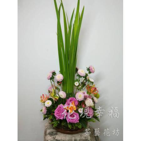 YS004田園藝術盆花