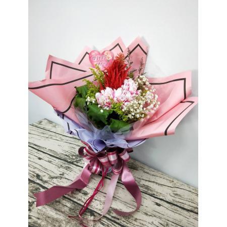 SU010康乃馨母親節花束