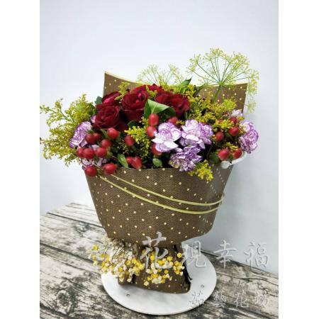 SU015玫瑰時尚花束