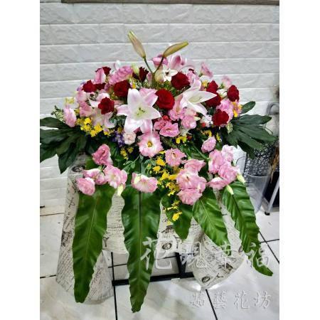 YS018半球型大桌花