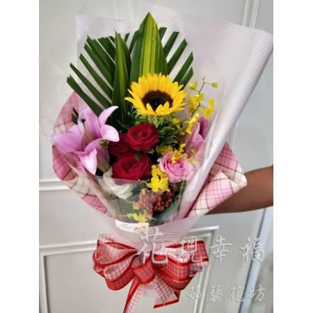 SU033粉浪漫花束