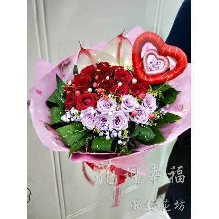 SU039[23朵玫瑰]花束