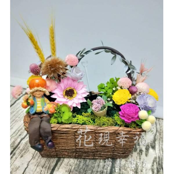GZ019乾燥花圃
