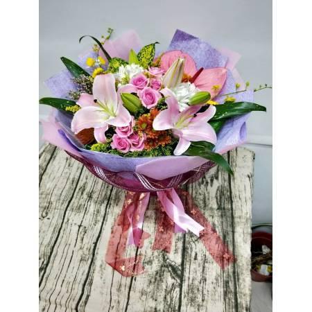 SU043隆重獻花花束