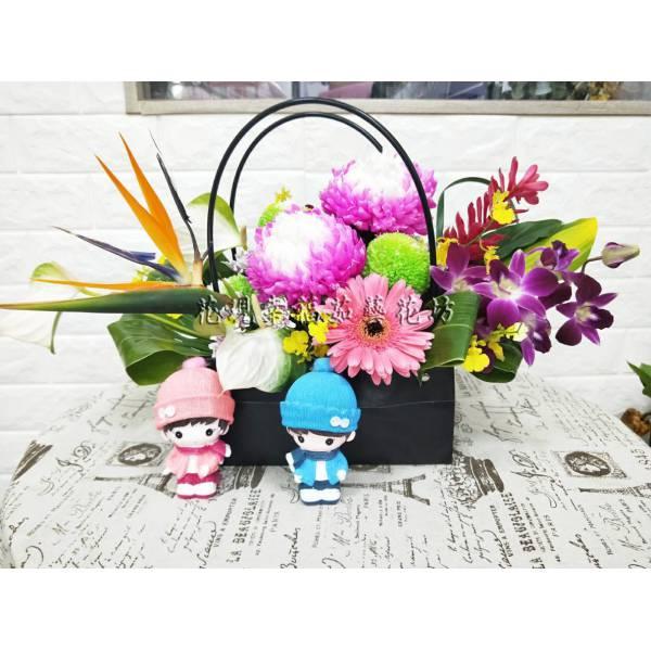 YS060藝術盆花