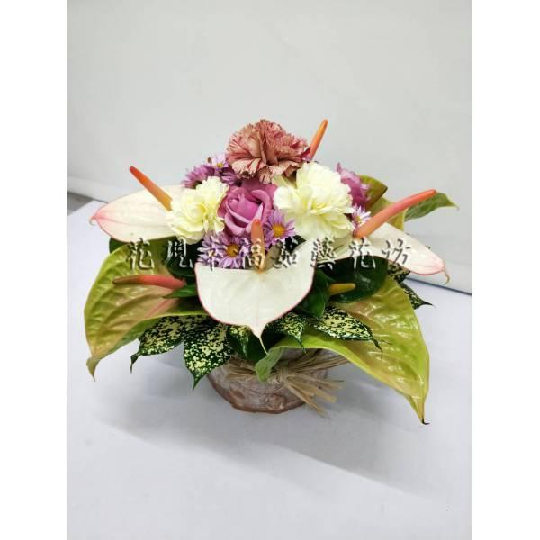 YS066藝術盆花