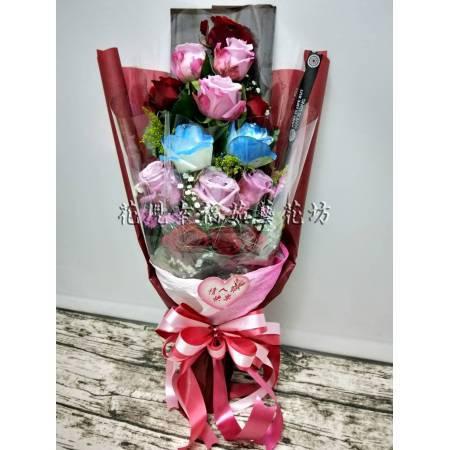 SU052盒裝花束