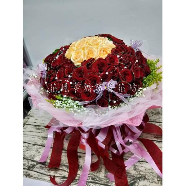 SU05399朵玫瑰花束
