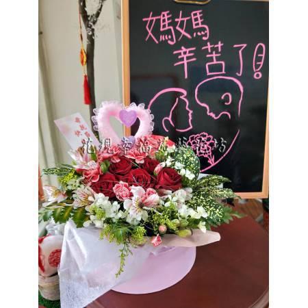 LI001母親節花禮盒