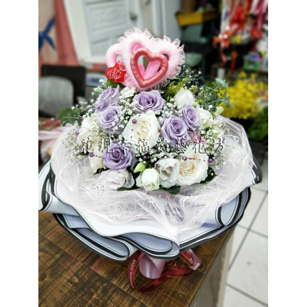 SU060520進口玫瑰花束