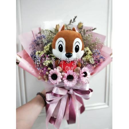 GZ038鼠於你乾燥花束