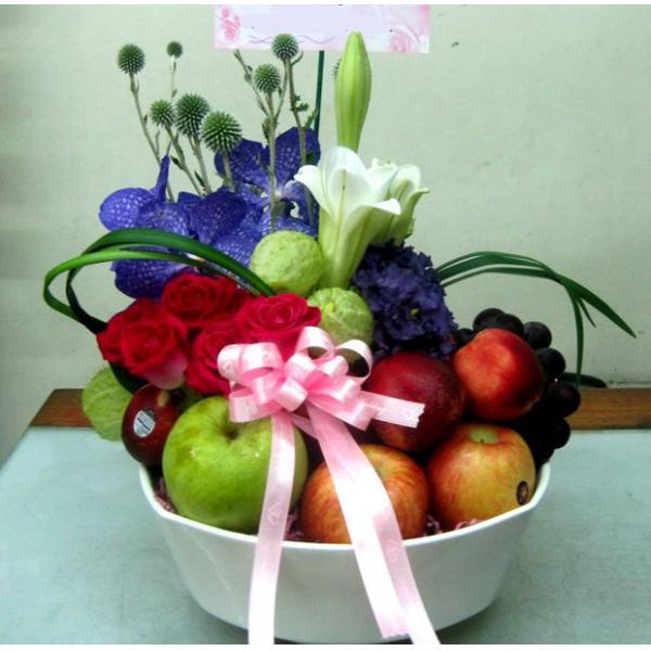 D005水果鮮花盆花