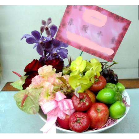 D007水果鮮花盆花