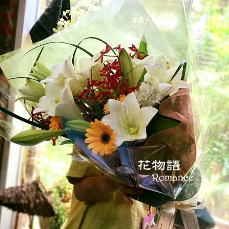 A002夢想傳情花束情人節生日花束演唱會獻花