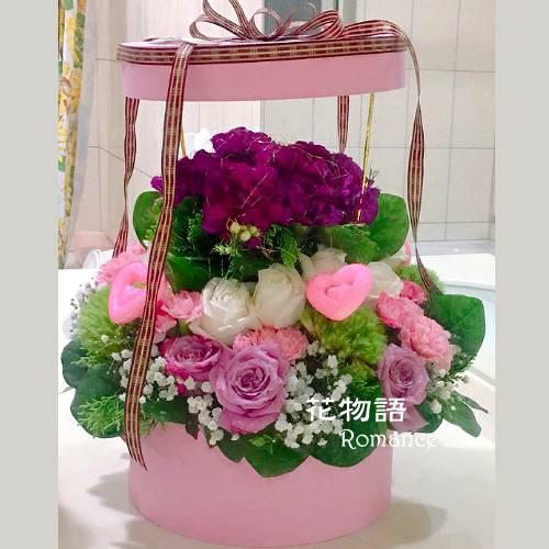 B001花禮盒時尚花禮台北大安區花店