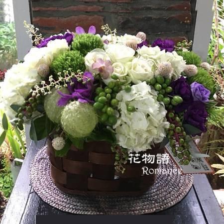 B002時尚盆花喜慶花禮店面擺飾