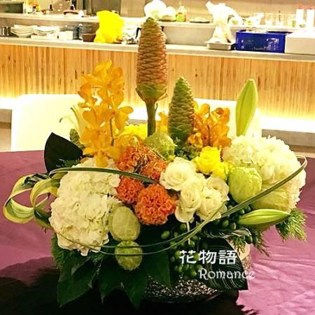 B003時尚盆花喜慶花禮會場擺飾