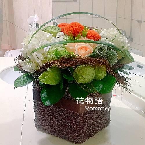 B006時尚盆花喜慶花禮店面擺飾