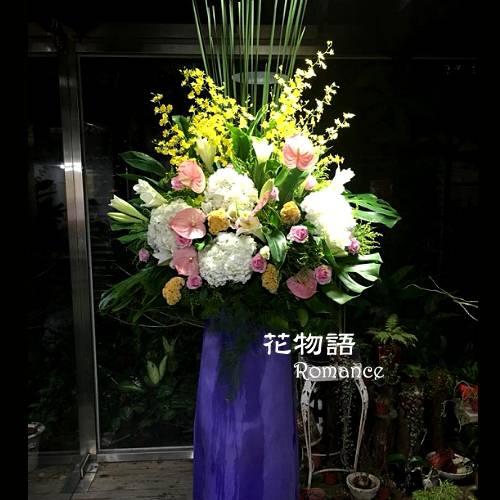 E001高架花藍慶開幕賀落成演奏會最佳賀禮喜慶會場布置