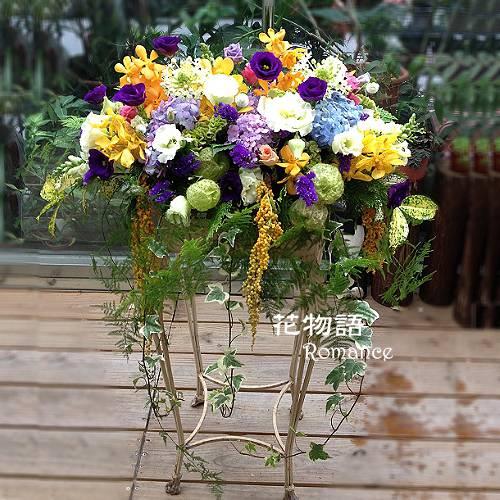 E002高架花藍慶開幕賀落成演奏會最佳賀禮喜慶會場布置