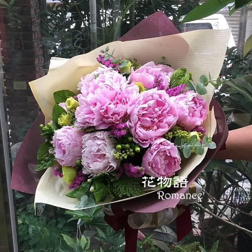 A003花開富貴傳情花束情人節生日花束