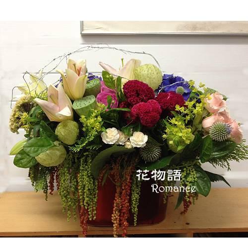 B010時尚盆花開幕喜慶盆花榮陞致賀新居祝賀盆花