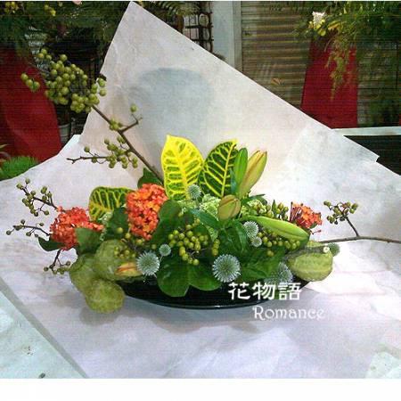 B012時尚盆花喜慶花禮店面擺飾祝壽花禮