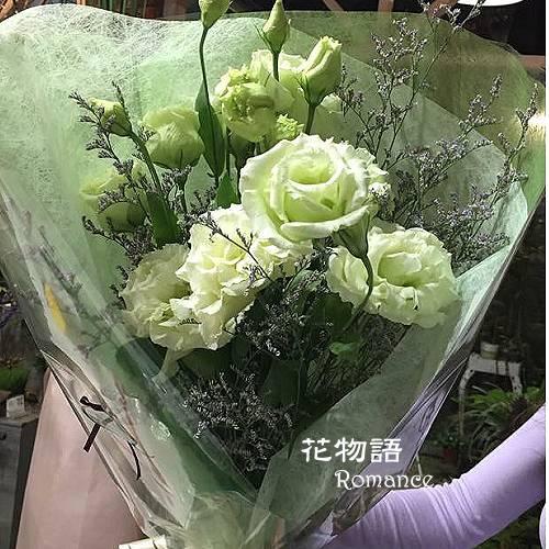A004桔梗花束傳情花束情人節生日花束演唱會獻花