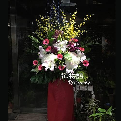 E006高架花藍慶開幕賀落成演奏會最佳賀禮喜慶會場布置